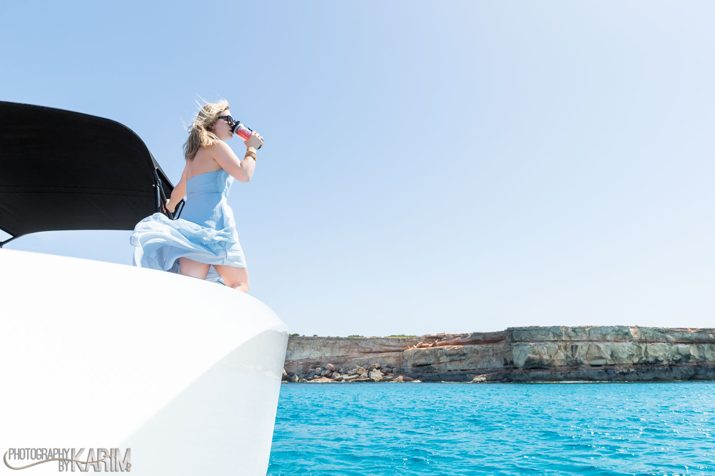 Tastea – Ibiza shoot the Vanquish